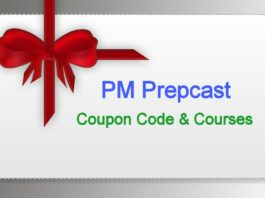 PM Prepcast Coupon Code and PMP courses