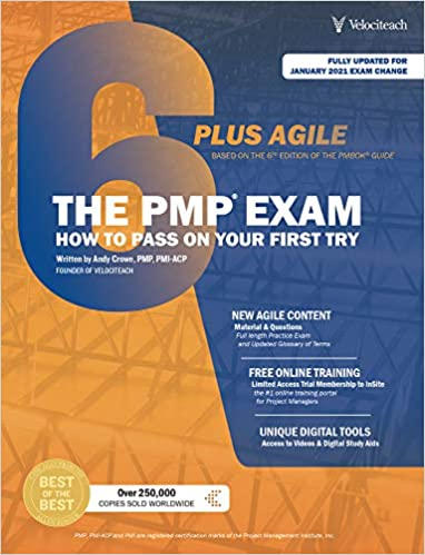 PMP Exam How to Pass On Your First Try Plus Agile by Andy Crowe